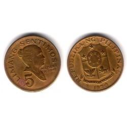 (197) Filipinas. 1970. 5 Sentimos (BC)