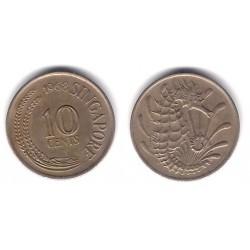 (3) Singapur. 1968. 10 Cents (MBC)