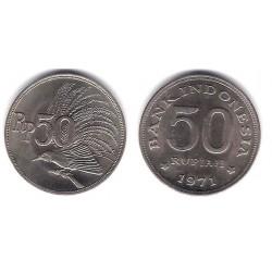 (35) Indonesia. 1971. 50 Rupiah (EBC)