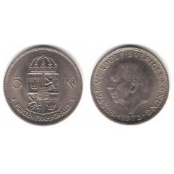 (846) Suecia. 1972. 5 Kronor (EBC)