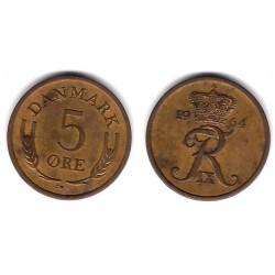 (848.1) Dinamarca. 1964. 5 Ore (MBC)