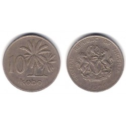 (10.1) Nigeria. 1976. 10 Kobo (MBC)