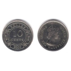 (35) Belice. 2000. 10 Cents (SC)