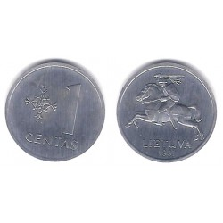 (85) Lituania. 1991. 1 Centas (SC)