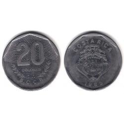 (216.2) Costa Rica. 1985. 20 Colones (MBC)
