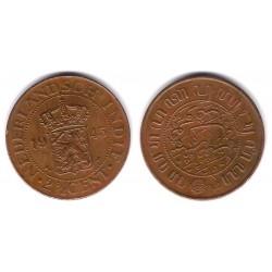 (316) Indias Holandesas. 1945. 2 ½ Cents (MBC+)
