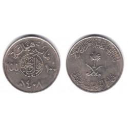 (65) Arabia Saudí. 1987. 100 Halala (MBC)