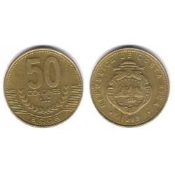 (231.1) Costa Rica. 1999. 50 Colones (MBC+)