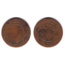 (307.2) Indias Holandesas. 1856. 1 Cent (RC)