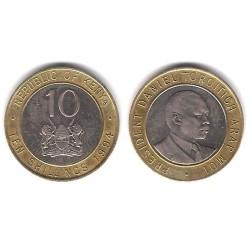 (27) Kenia. 1994. 10 Shillings (MBC+)