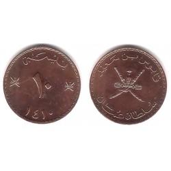 (52) Omán. 1989. 10 Baisa (SC)