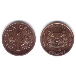 (98) Singapur. 1995. 1 Cent (SC)