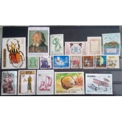 Lote de sellos de varios paises (18 uds)