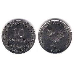 Timor Oriental. 2004. 10 Centavos (SC)