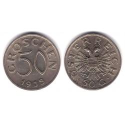 (2854) Austria. 1935. 50 Groschen (MBC+)