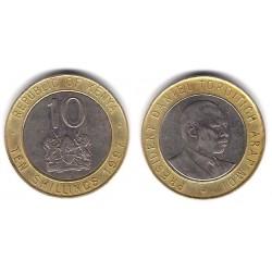 (27) Kenia. 1997. 10 Shillings (BC)