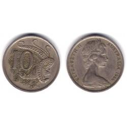 (65) Australia. 1966. 10 Cents (BC)
