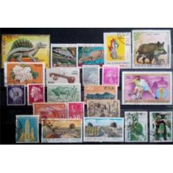 Lote de sellos de varios paises (21 uds)