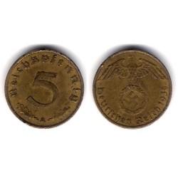 (91) Alemania (III Reich). 1938(A). 5 Pfennig (MBC)