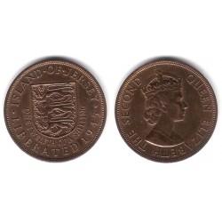 (20) Jersey. 1945. 1/12 Shilling (MBC+)