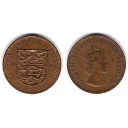 (21) Jersey. 1964. 1/12 Shilling (MBC)