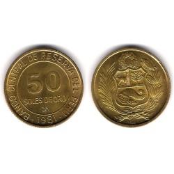 (273) Perú. 1981. 50 Soles de Oro (EBC)