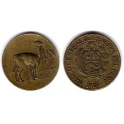 (248) Perú. 1967.1 Sol de Oro (MBC)