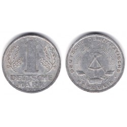 (13) Alemania Democrática. 1965(A). 1 Mark (BC+)