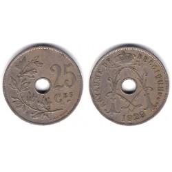 (68.1) Bélgica. 1929. 25 Centimes (BC+)