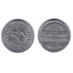 (27) Imperio Alemán (Weimar). 1920. 50 Pfennig (BC+)