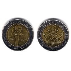 (18) Nigeria. 2006. 1 Naira (EBC)