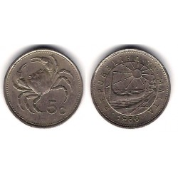 (77) Malta. 1986. 5 Cents (EBC)