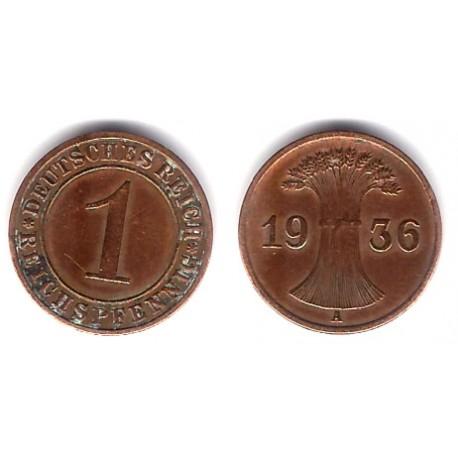 (37) Imperio Alemán (Weimar). 1 Pfennig (MBC-)