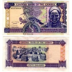 (19a) Gambia. 1996. 50 Dalasis (MBC)