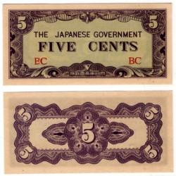 (10a) Burma. 1942. 5 Cents (SC)