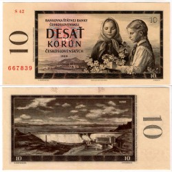 (88b) Checoslovaquia. 1960. 10 Korun (SC)