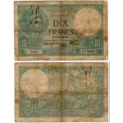 (84) Francia. 1939. 10 Francs (BC) Manchas y leves roturas