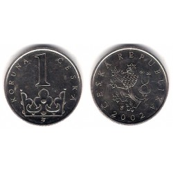 (7) República Checa. 2002. 1 Korun (EBC)