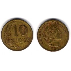 (224.2) Perú. 1958. 10 Centavos (BC)