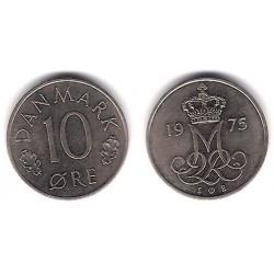 (860.1) Dinamarca. 1975. 10 Ore (MBC)