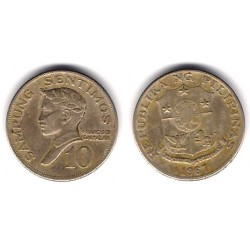 (198) Filipinas. 1967. 10 Sentimos (BC)