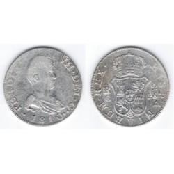 Fernando VII. 1810. 2 Reales (BC) (Plata) Ceca de Catalulña