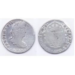 Fernando VII. 1814. 4 Reales (BC) (Plata) Ceca de Guadalajara MR