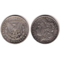 (110) Estados Unidos de América. 1889(O). 1 Dollar (MBC) (Plata)