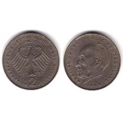 (124) Alemania. 1973(J). 2 Mark (MBC)