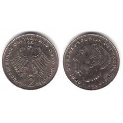 (A127) Alemania. 1980(D). 2 Mark (BC+)