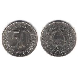 (113) Yugoslavia. 1988. 50 Dinara (MBC)