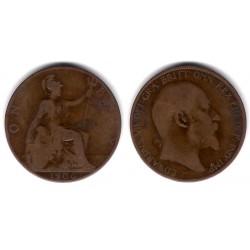 (794.2) Gran Bretaña. 1906. 1 Penny (BC)
