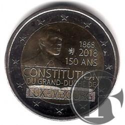 Luxemburgo. 2018. 2 Euro (SC)