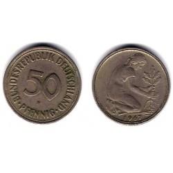 (109.1) Alemania. 1967(F). 50 Pfennig (MBC)